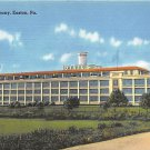 Easton, PA Postcard Dixie Cup Company (A757) Penna, Pennsylvania