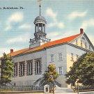 Bethlehem, PA Postcard - Moravin Church (A758) Penna, Pennsylvania