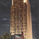 Allentown, PA Postcard Power & Light Co. at Night (A766) Penna, Pennsylvania
