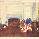 Philadelphia, PA Postcard Betsy Ross House, 1946 (A776) Penna, Pennsylvania