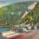 Delaware Water Gap, PA Postcard Million Dollar Highway (A769) Penna, Pennsylvania