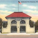 Mt. Carmel, PA Postcard Anthracite Fire Company (A775) Penna, Pennsylvania