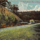 C & O. Canal, East of Cumberland, Md - 1910 Postcard (B273) Maryland