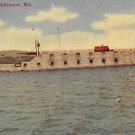Fort Carroll, Baltimore, Md - 1910 Postcard (B274) Maryland