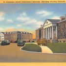 Aberdeen Proving Grounds, Md Oridance School Barracks 1948 Postcard (B282) Maryland