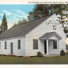 Easton, Md Friends Old Meeting House 1935 Postcard (B283) Maryland