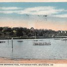 Baltmore, Md Patterson Park Postcard 1917 (B305) Maryland