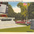 Hagerstown, Md United Spanish War Veterans Memorial Postcard (B306) Maryland