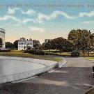 Baltmore, Md Lake Drive, Druid Park Postcard 1915 (B313) Maryland