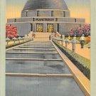 Chicago, Ill Postcard Adler Planetarium (B10) IL, Illinois
