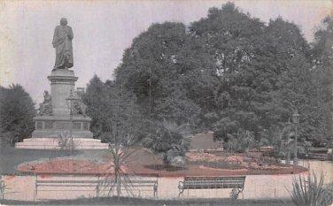 Stockholm, Sweden, Sverige Postcard - Linne Monument (B328-329)