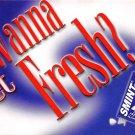Wanna Get Fresh? - Continental Postcard (B351)