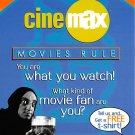 Cinemax Movies Rule- Continental Postcard (B356)