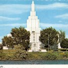 Idaho Falls, Idaho L.D.S. Temple - Continental Postcard (B374)