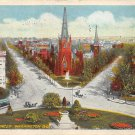 Washington, DC Thomas Circle Postcard 1922 (B381)