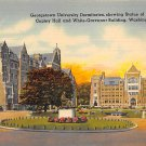 Washington, DC Georgetown University Postcard (B395)