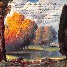 Vintage Litho Scene Postcard Posen Germany (B397-398)