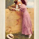 No one ever kissed me like that - Romance Postcard (B412)