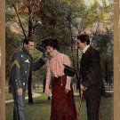 The Introduction - Romance Postcard (B413)