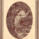 Let's Kiss Once More - Embossed Romance Postcard (B423)