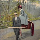 I Carry My Tools With Me - Romance Postcard 1910 (B430)