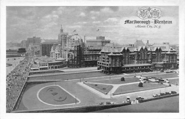 Atlantic City - Marlborough Blenheim Postcard (B434)