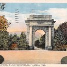 Chattanooga, Tenn National Military Cemetery Postcard (B441) Tennessee
