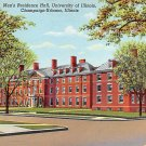 Champaign Urbana, University Illionois Postcard (B447) IL