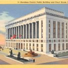 Nashville, Tenn Davidson County Court House Postcard (B448) Tennessee