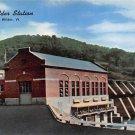 Wilder Station, New England Power Company Postcard (B460)