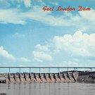 Fort Loudon Dam, Lenoir City Tennessee Postcard (B463)
