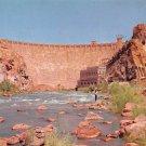 Roosevelt Dam, Salt River in Arizonia Postcard (B464)