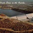 Bull Shoals Dam, White River Arkansas Postcard (B468)