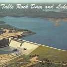 Table Rock Dam - Aerial View- Ozarks Postcard (B469)