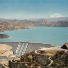 Shasta Dam Shasta Lake, Mt. Shasta Postcard (B476)