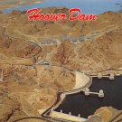 Hoover Dam - Neveda - Arizona Postcard (B481)