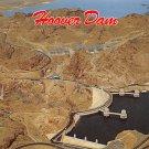 Hoover Dam - Neveda - Arizona Postcard (B481)