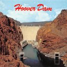 Hoover Dam - Neveda - Arizona Postcard (B484)