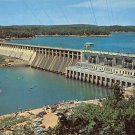 Bagnell Dam Aerial View Osage River Postcard (B485)