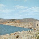 Quabbin Reservoir, Mass Windsor Dam Postcard (B486)