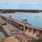Bagnell Dam Aerial View Osage River Postcard (B488)