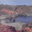 Upstream Face Of Hover Dam - Neveda - Arizona Postcard (B493)