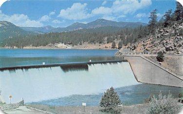 Evergreen Dam and Lake, Colorado Postcard (B505)