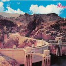 Hoover Dam - Neveda - Arizona Postcard 1969 (B507)