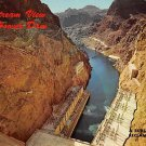 Hoover Dam - Downstream View Postcard (B510)