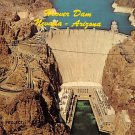 Hoover Dam - Neveda - Arizona Postcard (B511)