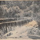 Dam at Kawana Lake Postcard 1903 (B514)
