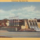 Davis Dam on Colorado River Postcard (B520)