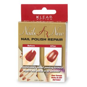 LOT OF 5 Klear Action Nails AR New Nail Polish Repair