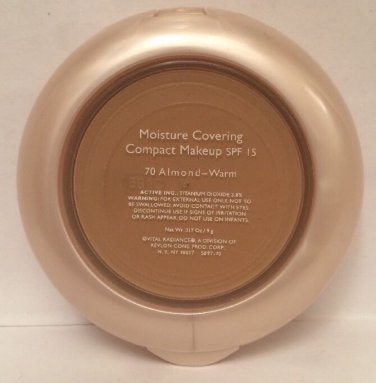 Vital Radiance Moisture Covering Compact Makeup 70 Almond Warm SPF 15